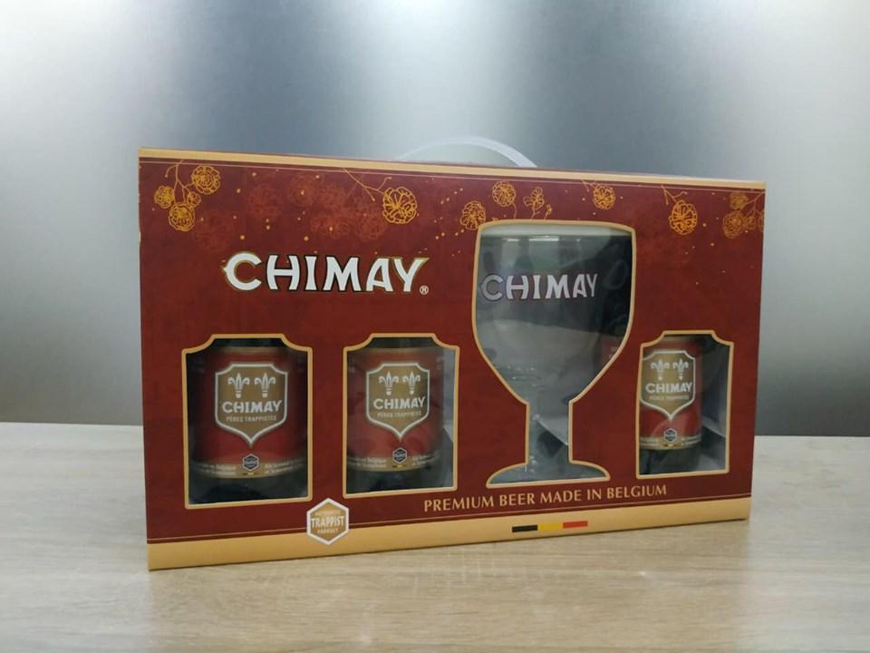 😱Hộp quà 4 chai Chimay Bỉ tặng 1 ly cao cấp chính hãng đã về hàng...  😜Giá năm nay nhích lên đôi chút nhưng vẫn quá hợp lý cho 1 set quà tặng sang chảnh:  🍏Hộp quà Chimay xanh: 400k/hộp 🌹Hộp quà Chimay đỏ: 400k/hộp  😍Kính mời các công ty, đại lý cần hàng inbox ngay cho chúng tôi để nhận báo giá TỐT NHẤT theo slg nhé!  #quatet, #quatangbianhapkhau, #xachbiachimay,#biachimay, #quatetsangtrong