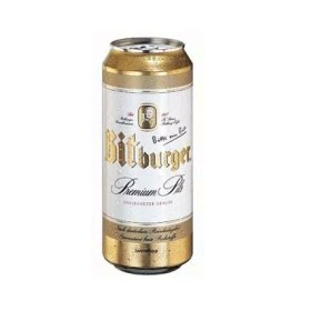 Bia Bitburger 5% Đức- lon 500 ml