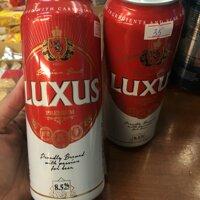 Lốc 6 lon bia Bỉ Luxus 500ml
